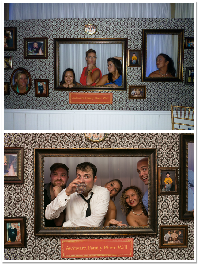 Awkward Family Photo At Our Wedding An Inexpensive Alternative To A Booth How