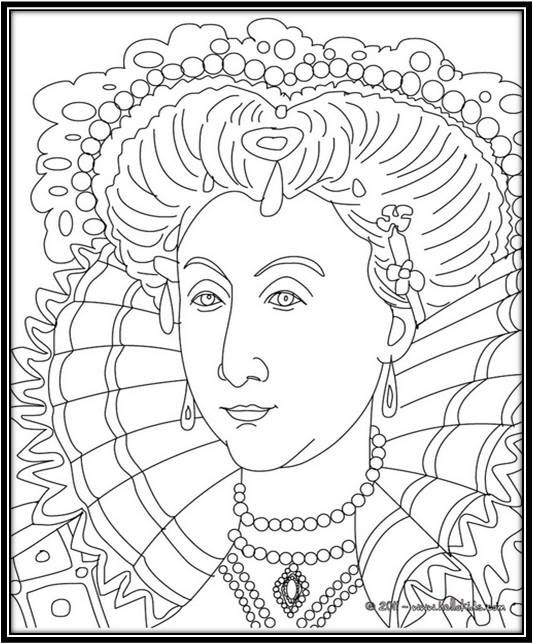 Ty Coloring Pages The Maiden S Court British Royals Coloring