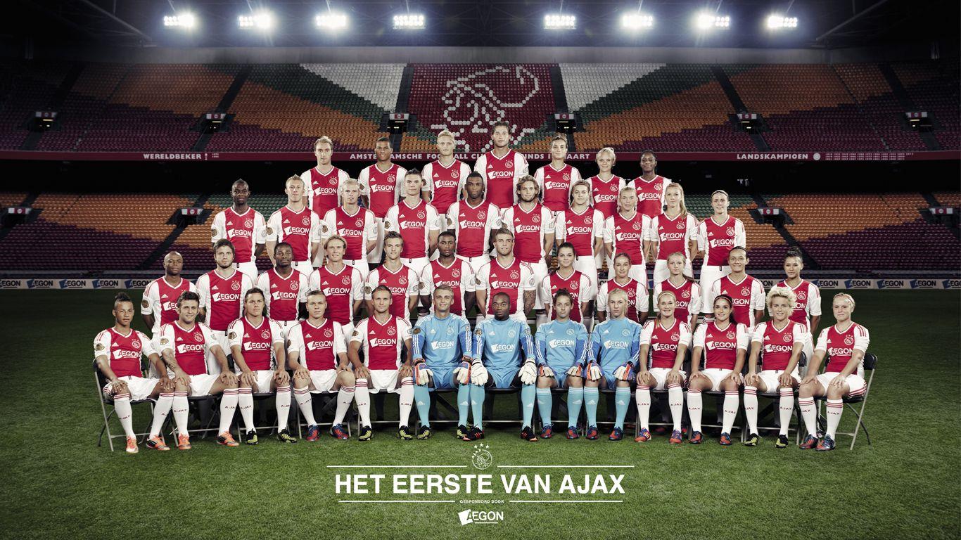 Ajax Selectie 2012 2013 Afc Ajax Soccer Field Ajax