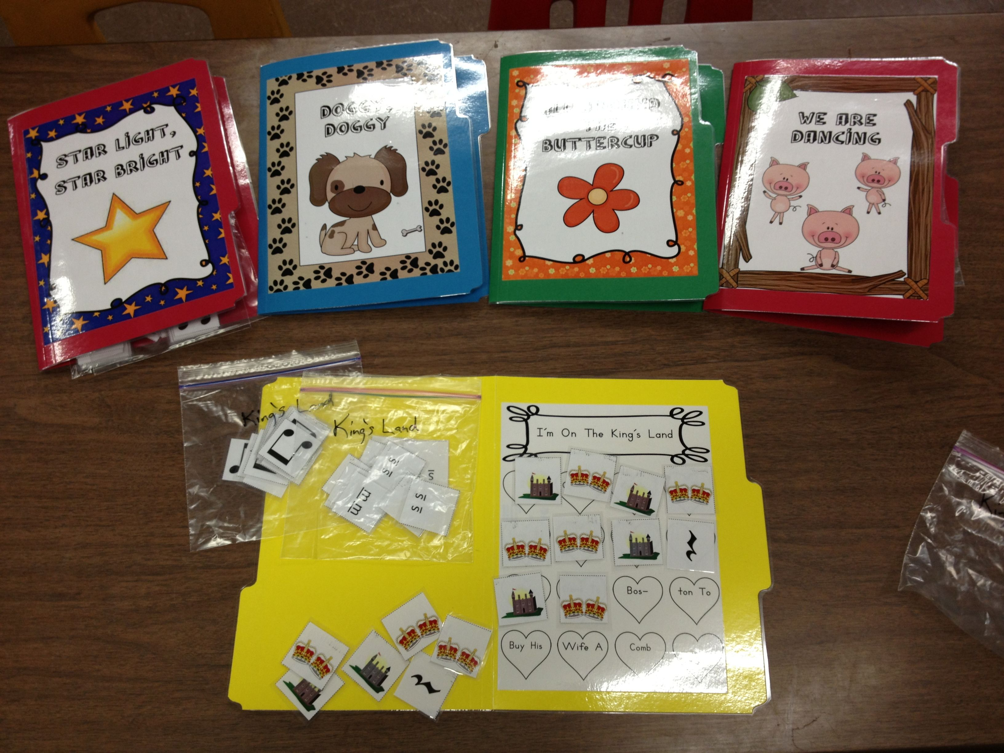 Elementary Music File Folder Games: Collection No  1 | Elementary