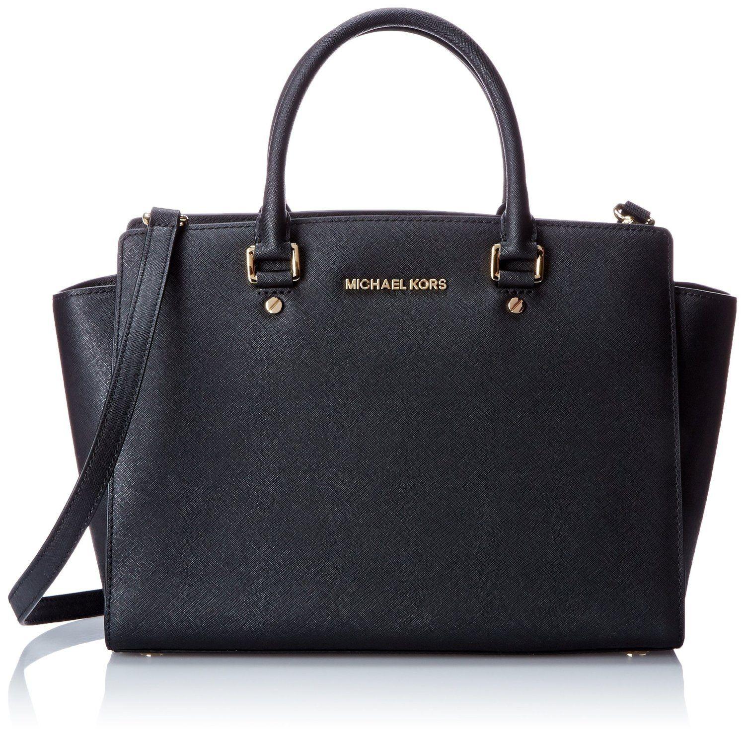 Michael Kors Handbag Selma Large Top Zip East West Satchel