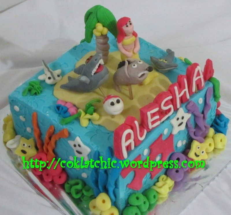 Image Result For Sharko And Zig Cake