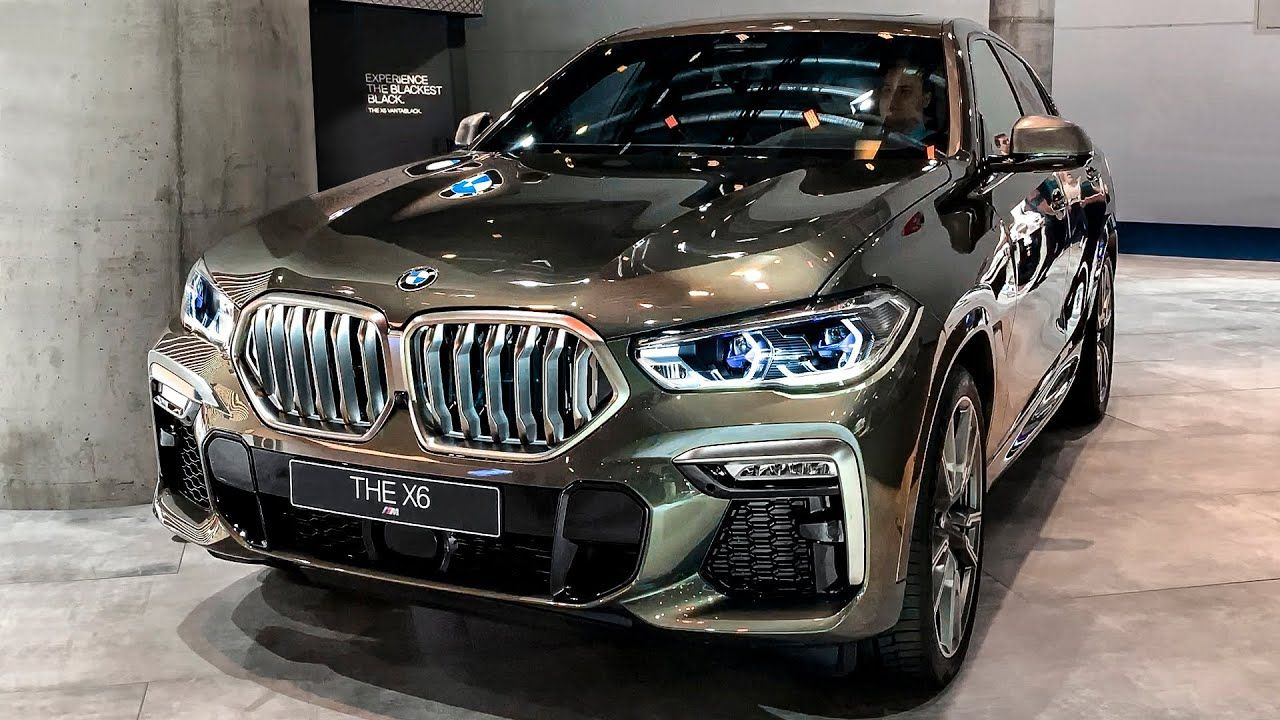 That new backlit grille is incredible...😱 2020 BMW X6 M