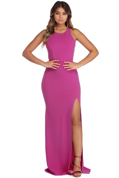 43074116fd00 Nadia Open Back Formal Dress | Products