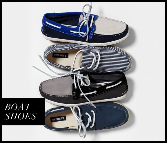 Check out Our Stylist Loves: BOAT SHOES from the EXPRESS fashion ...