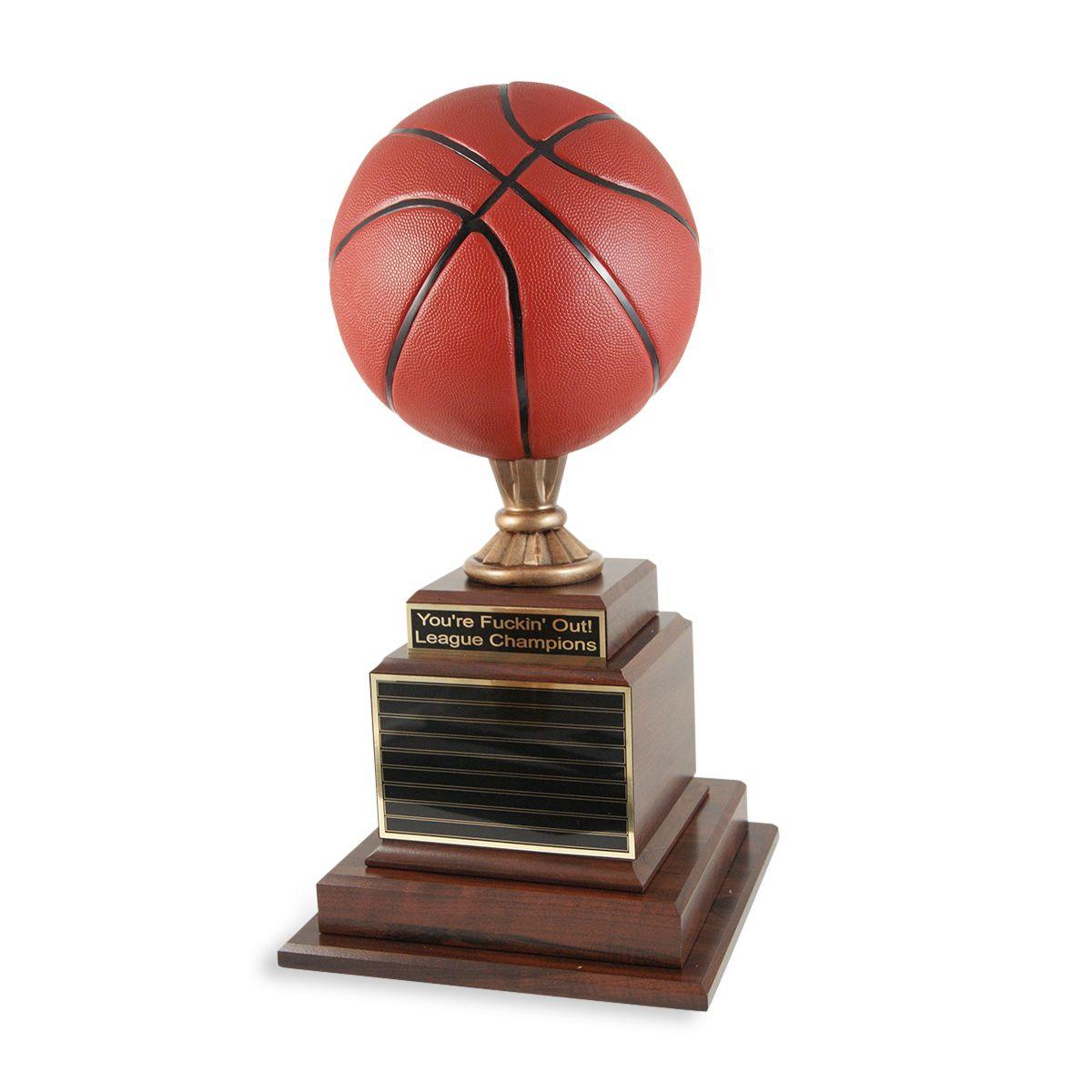 Hall Of Fame Basketball Trophy Basketball Trophies Fantasy Basketball Basketball