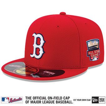 801dfe135 Boston Red Sox New Era Authentic Collection Home Run Derby Diamond Era  On-Field 59FIFTY Performance Fitted Hat - Red