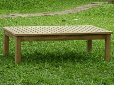 Genial Atlanta Teak Furniture   Teak Rectangular Coffee Table   Grade A   48x30 **  Learn