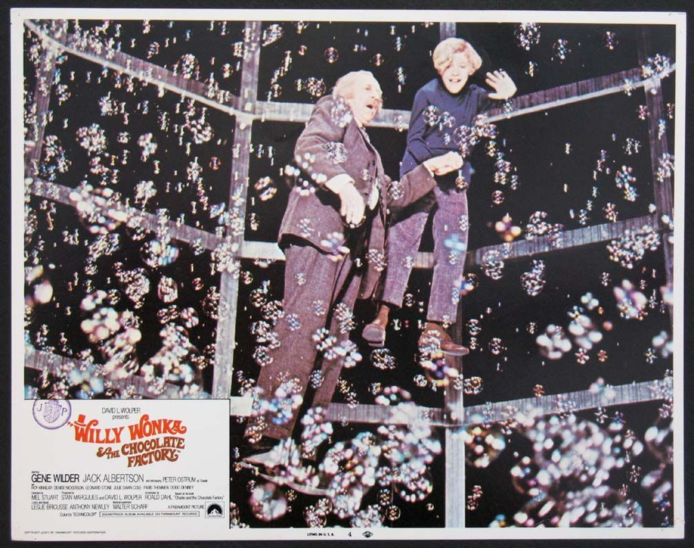 Willy wonka and the chocolate factory the bubble room lc 4 | Willy ...