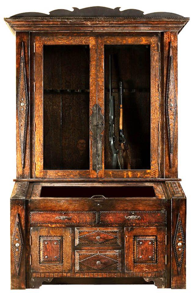 Gun Cabinet Wood Projects Wood Gun Cabinet Cabinet