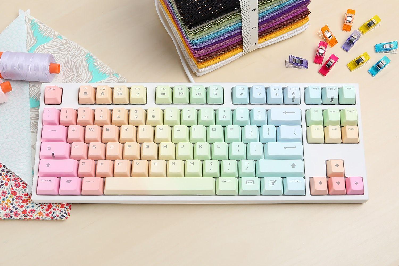 Keycool Rainbow Keyboard - Massdrop