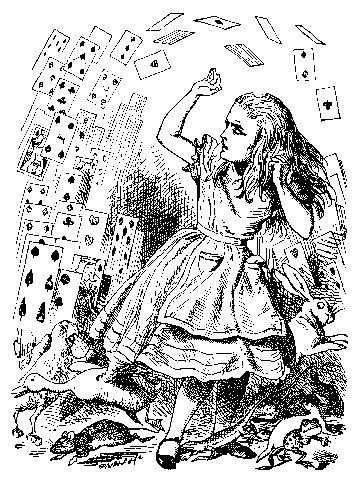Sir John Tenniel illustrations | Original Alice illustrations ...