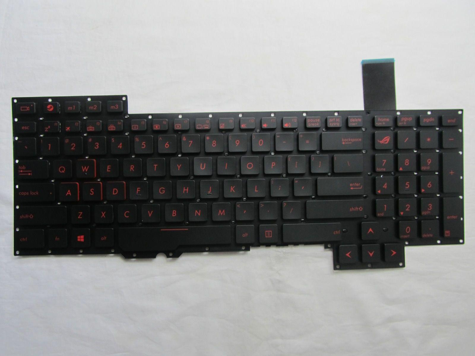 Original New For Asus G751 G751j G751jl G751jm G751jt G751jy Us Black Laptop Keyboard Laptop Accessories Laptop Keyboard Laptop