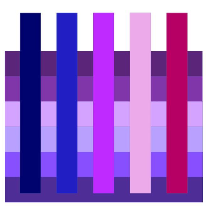 Mode-Farbe Violett: Die 5 Besten Farbkombinationen Für