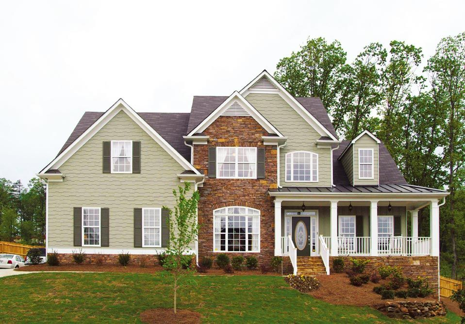 Hopkins Elev Jpg 958 668 2430 Square Feet Great Plan Hopkins Homes House Plans With Photos House Exterior