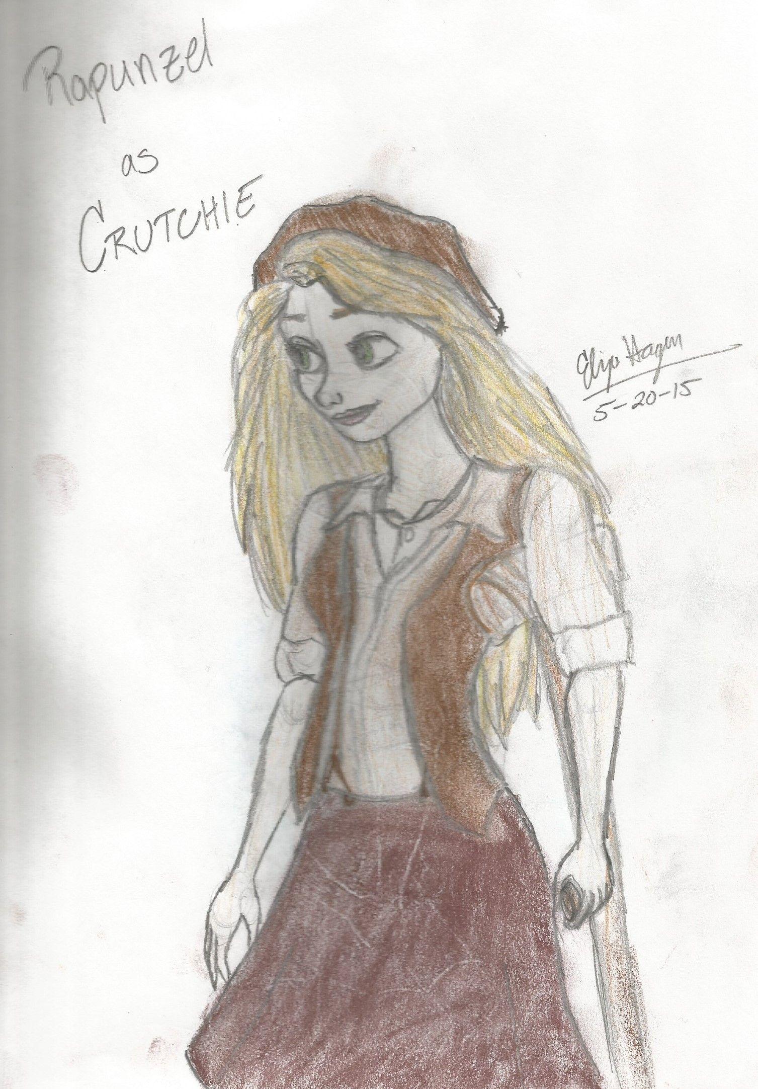 Newsies Crutchie Costume