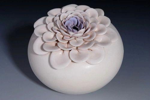 lotus purple detail, via Flickr.