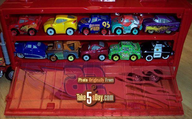 Mattel Disney Pixar Cars 3 Mini Racer Mack Transporter