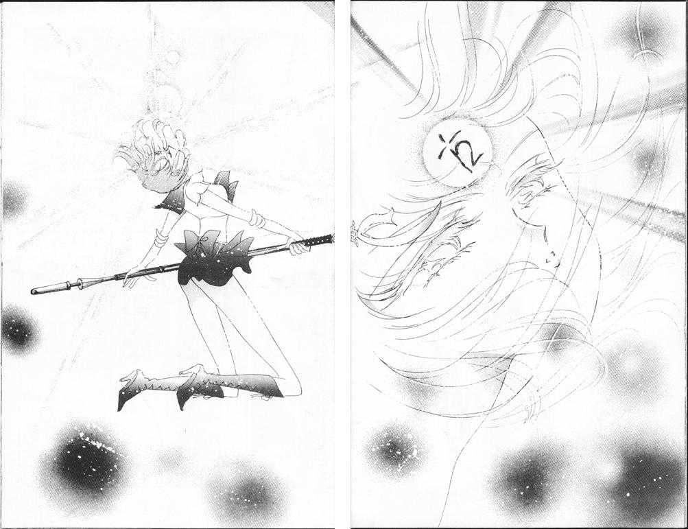 Sailor Saturn awakens | sailor saturn | Pinterest