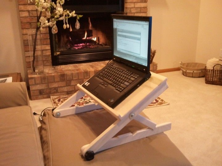 A Better Laptop Stand For Bed Laptop Stand Bed Diy Laptop Stand