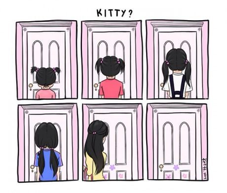 Donde esta el gatito :(