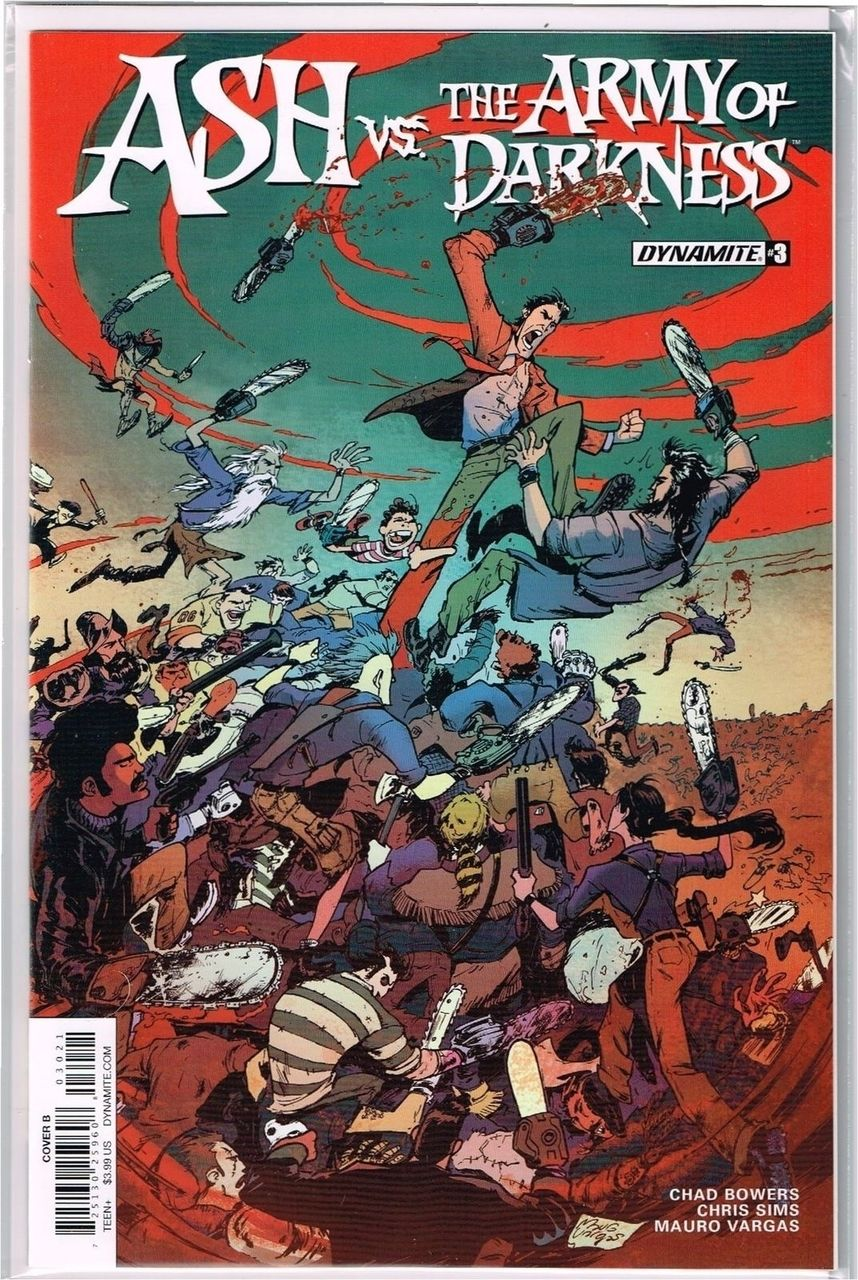 Vault 35 Ash vs The Army of Darkness #2 Cover C VF 2017 Dynamite Comic