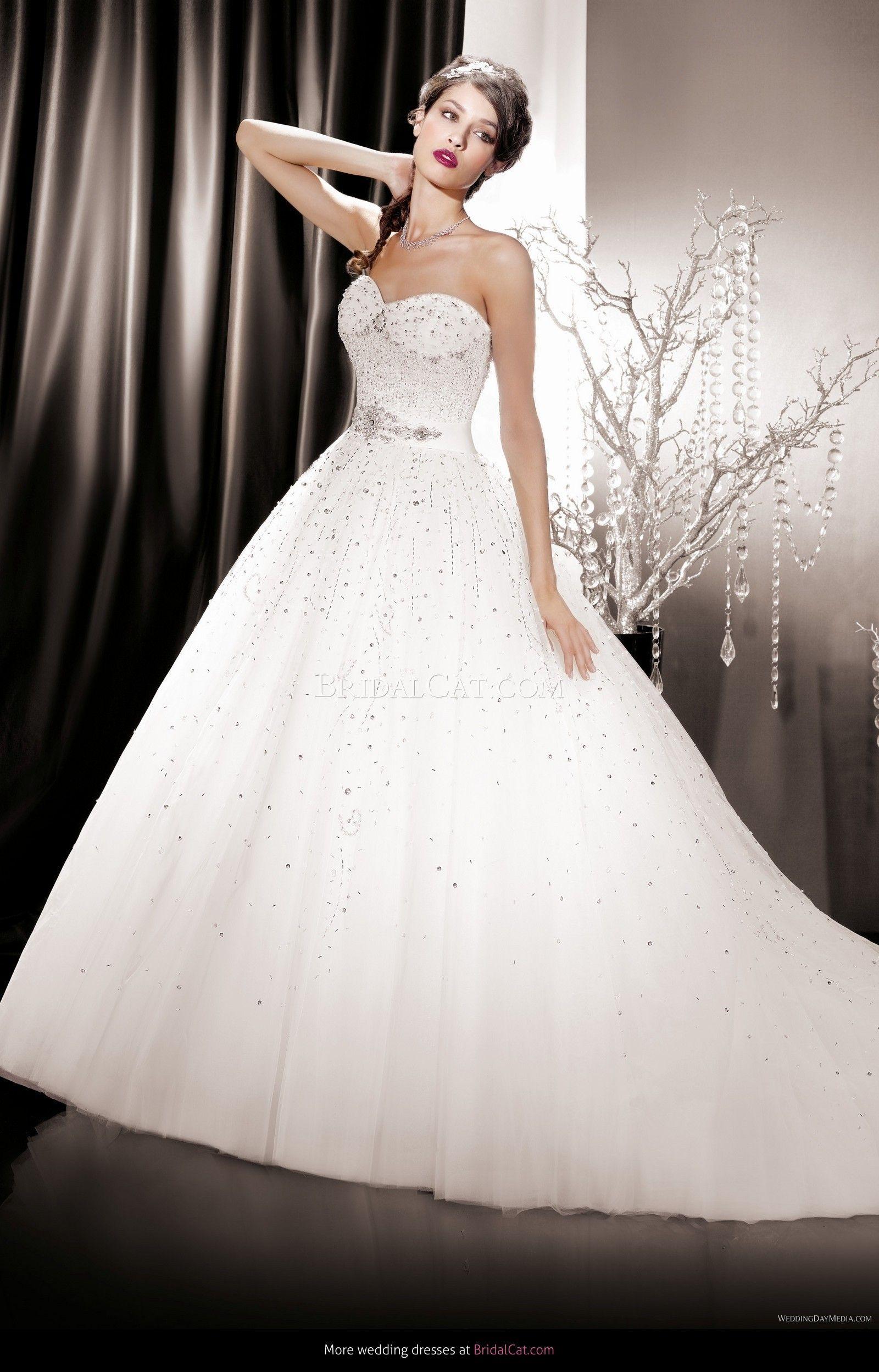 2014 KS 146-06 #wedding_dress #gorgeous #strapless_wedding_dress #stunning_wedding_dress
