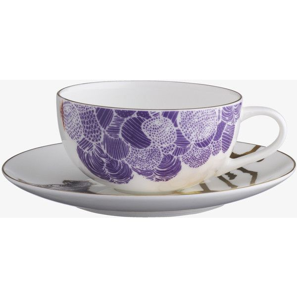 Concetta White Ceramic Teacup Saucer 15 Liked On