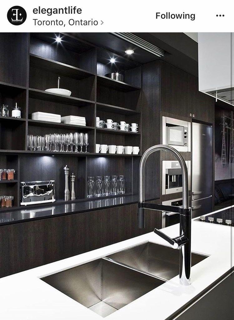 Black Kitchens Home Interior Design Kitchen Decor Condo