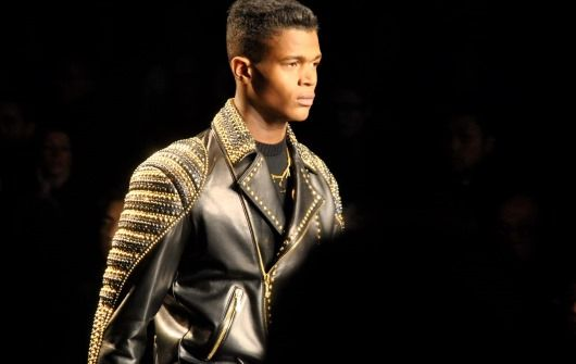 Two-Tone Versace Fashion Look