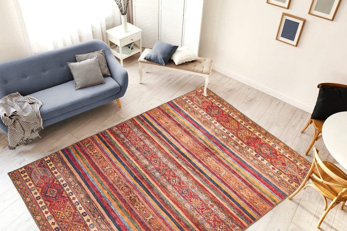 Amazon De Moebeldeal Teppich Faye 725 Multi Rot Ethno Muster Läufer Wohnzimmerteppich Wohnzimmerteppich Wohnzimmer Teppich Teppich