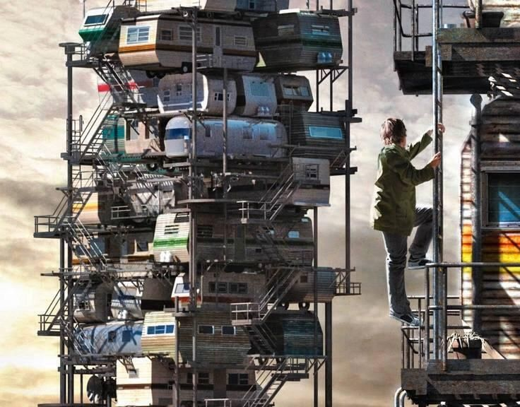 Camper Highrise Ready Player One Movie Ready Player One Ready Player One Book