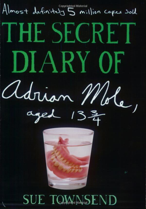 Super British Secret Diary Adrian Mole Books