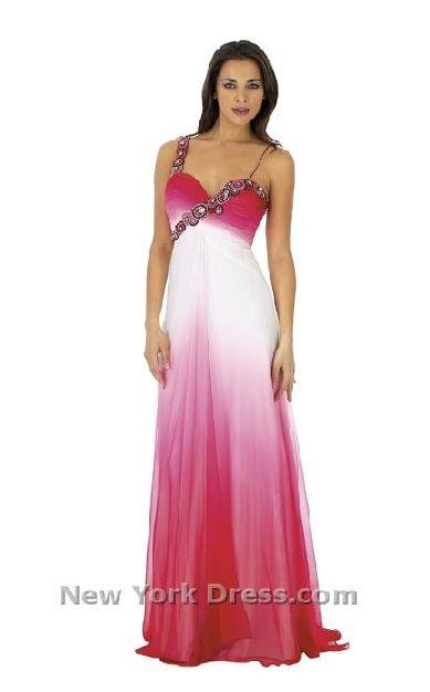 Faded prom dresses