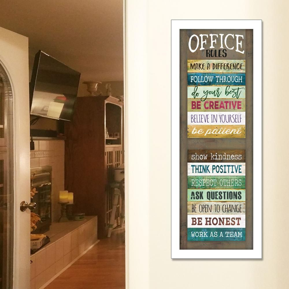 Office Rules By Marla Rae Framed Wall Art Products