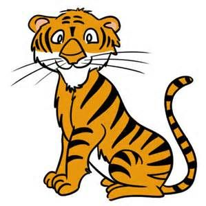 back to school tiger clip art free bing images animals rh pinterest com au cartoon tiger clipart free