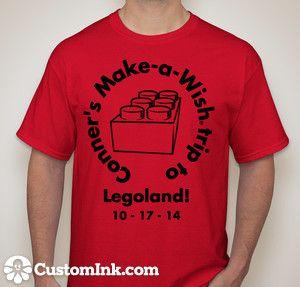 Legoland - back (With images) | Custom ink, Mens tshirts ...