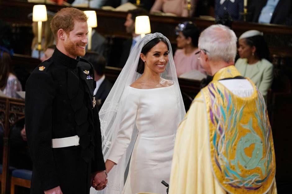 Warum Die Gaste Kichern Mussten Meghan Markle Konigliche Hochzeit Prinz Harry