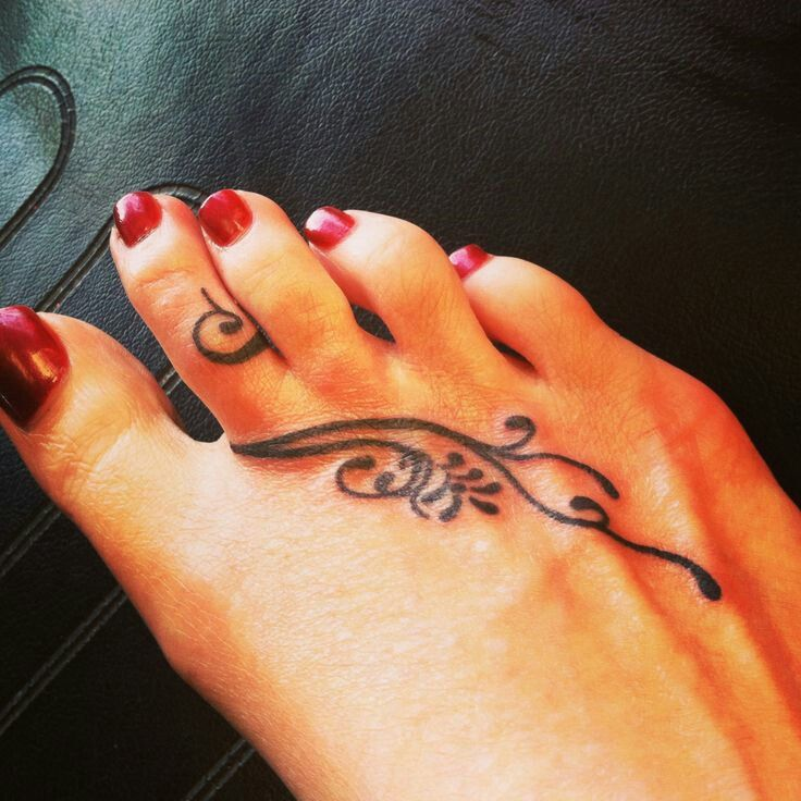 Tattoo Orteil Tatouage Tatouage Cheville Tatouage Pied