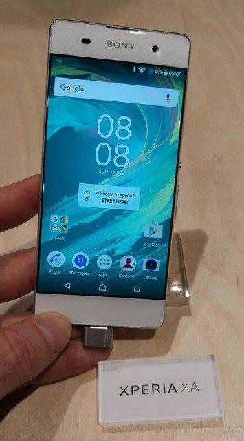 Mwc 2016 Sony Devoile Les Smartphones Xperia X Xperia Xa Et Xperia X Performance Smartphone Tablette Androi Android Accessories Smartphone Smartphone Gadget