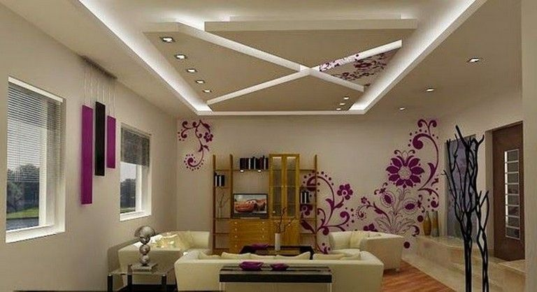 63 Awesome Modern Led Strip Ceiling Light Design Ceiling