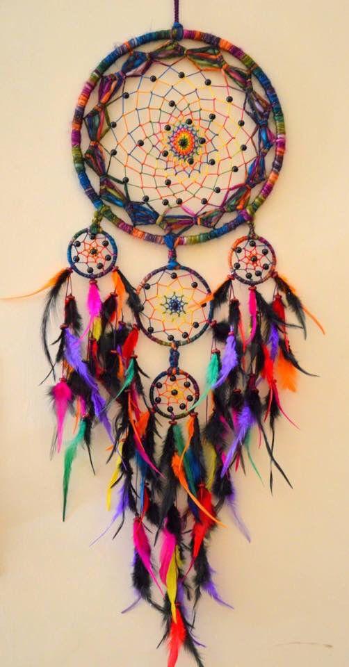 dreamcatcher rainbow colors dreamcatchers