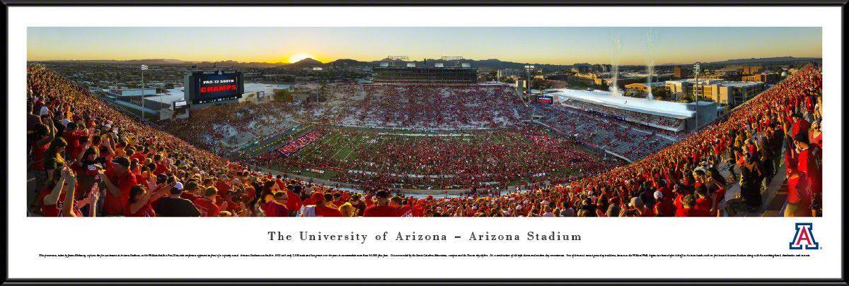 Arizona Wildcats Panoramic Picture Arizona Stadium