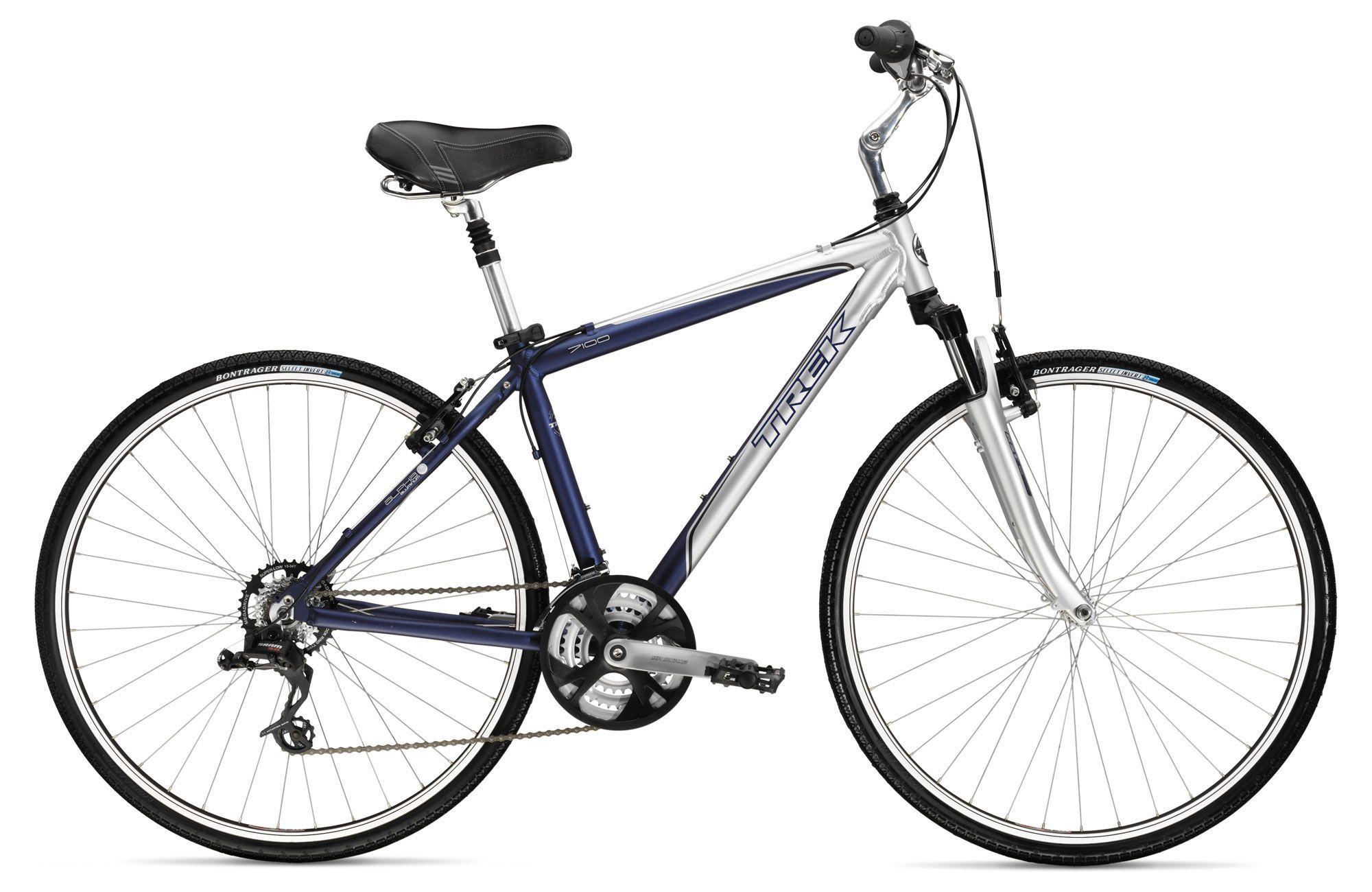 Trek 7100 Mens Hybrid Touring Bike 2009 Trek Bikes Touring Bike Cool Bikes