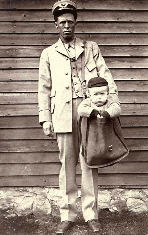 Sending a Child Through the Mail in 1914