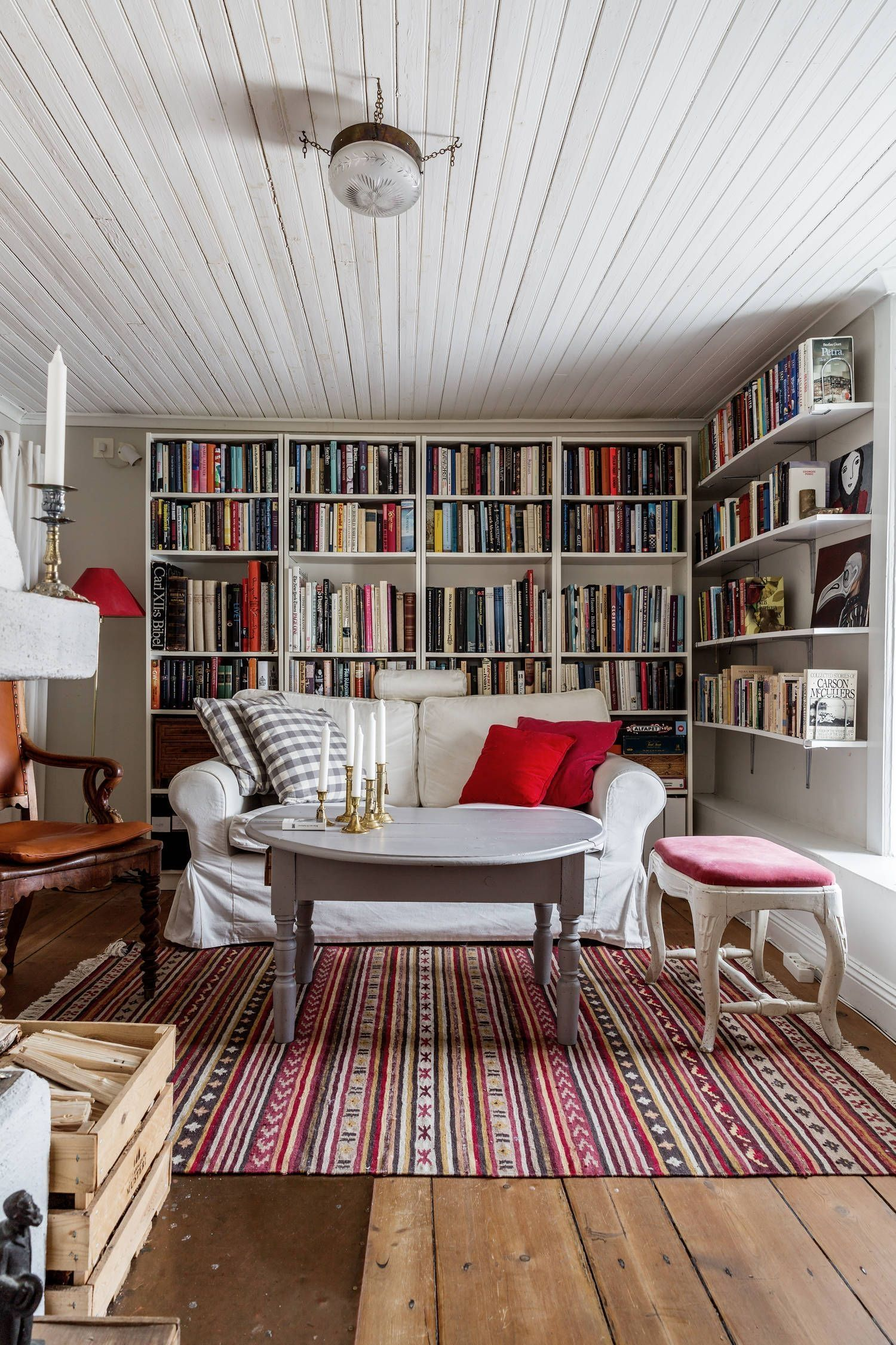 Living Room Library Design Ideas: 47 Wonderful Livingroom Design Ideas