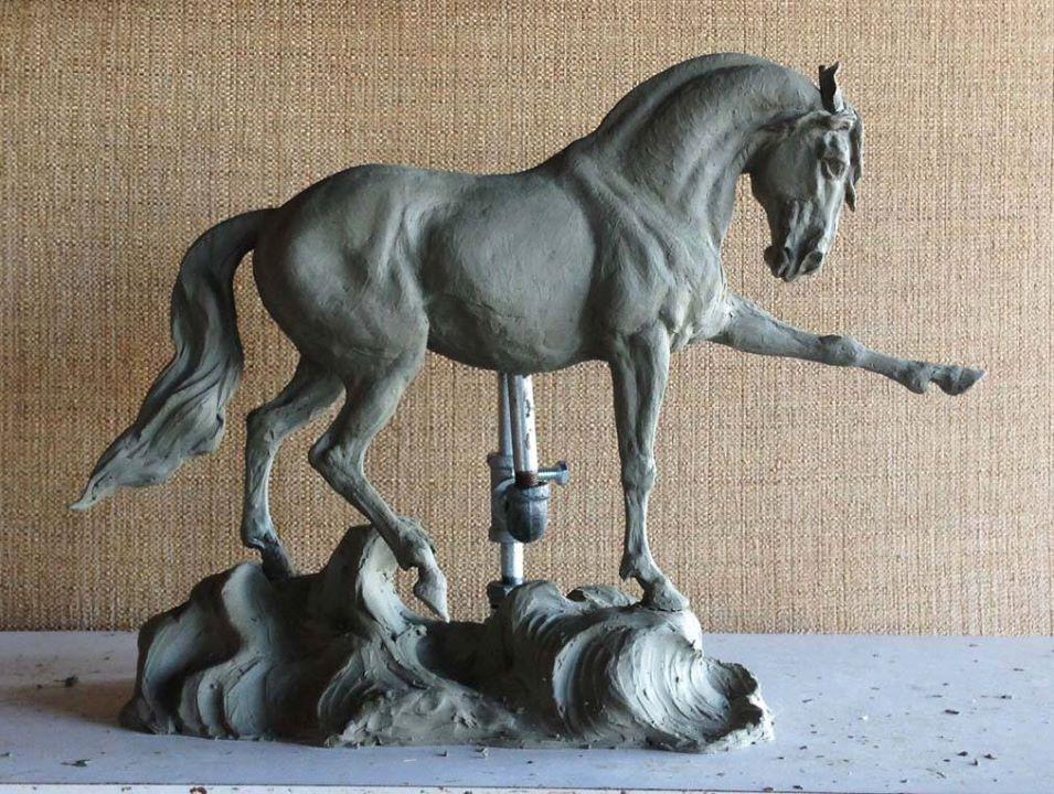 Andalusian Sculpture by Carol Nierenberg