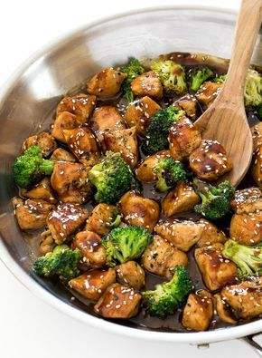 Honey Garlic Chicken Stir Fry (30 Minutes!) - Chef