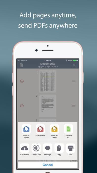 TurboScan™ Pro document & receipt scanner scan multiple
