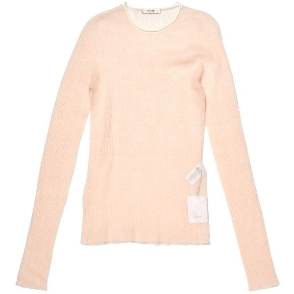 6ef31c483b3 Pre-owned Céline Jumper (€170) ❤ liked on Polyvore featuring tops ...